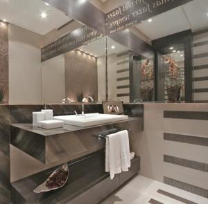 Decoração de Banheiros com Granito   Modelos modelos de decoracao banheiro com granito 300x295