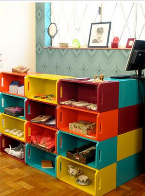 Decoração de Casa com Caixote de Madeira – Dicas e Modelos decoracao caixote1