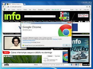 google chrome 18 300x225