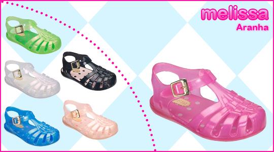 Coleção Mini Melissas Infantil 2012  Tendências, Modelos, Fotos melissa aranha 20121