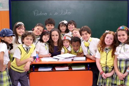 elenco da novela carrossel