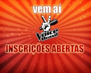 Inscrições Para o The Voice Brasil 2012   Como Se Inscrever, Vídeos, Participar inscricao the voice brasil 300x240