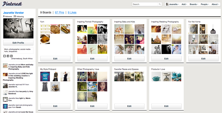 Nova Rede Social Pinterest   Login, Como Criar Conta Pinterest 2012