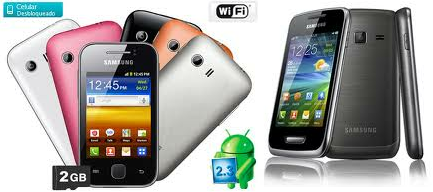 Galaxy Young S5360 Android Whatsapp Camara 2mp Wifi 2gb  Apps