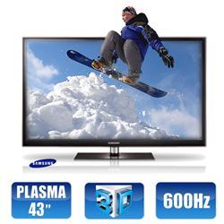 Tv de plasma 43 samsung s rie 4 3d com conversor digital for Tv plasma carrefour