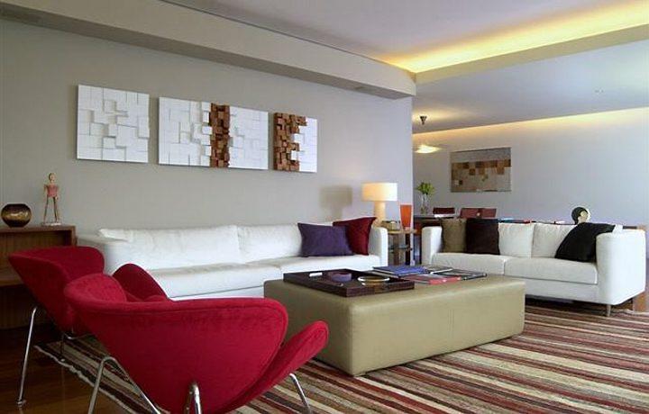 Como Deixar A Sala De Estar Bonita ~ Moda Tendências De Cores Para Decorar a Casa Na Primavera 20122013