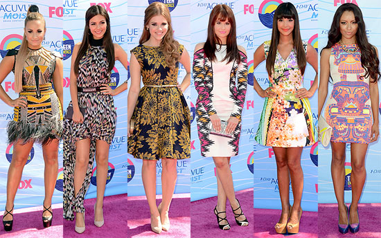teen choice 2012