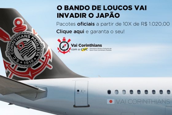 Corinthians viagem japao