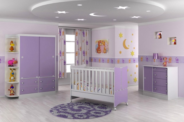 decoraao em gesso quarto infantil