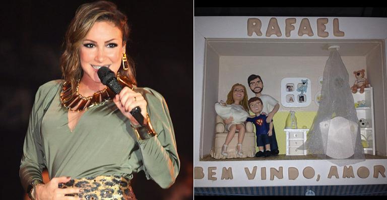Nasce Rafael o Segundo Filho da Cantora Claudia Leitte  Fotos segundo filho da cantora claudia leitte