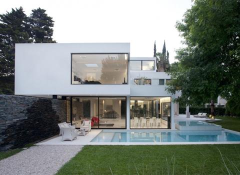 Decoração de Fachada de Casas Moderna thg