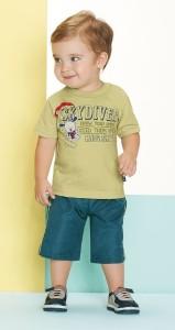 Nova Coleção de Roupas Infantil Kyly 2013 – Fotos, Tendências, Loja Virtual  conjunto masculino kyly blusa bermuda 159x300