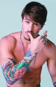 Tendências de Tatuagens Masculinas 2013 –Ver fotos Dicas e Modelos  mateus verdelho 194x300