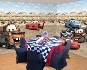 Decoração de Festa Infantil Tema Carros – Fotos, Modelos, Dicas  decoraçao carros 300x239