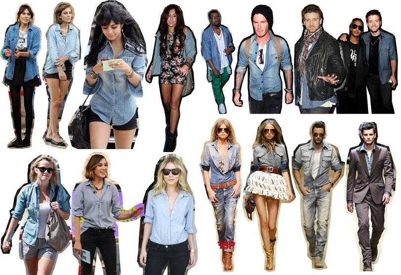 Camisas Jeans – Tendências, Dicas Masculinas e Femininas, Informações (1)