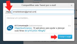 Como Enviar Tweets Por E-mail - Passo a Passo (1)
