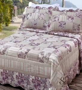almofadas com patchwork