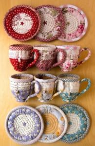 patchwork enfeites de cozinha