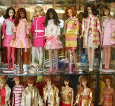 vitrine barbie