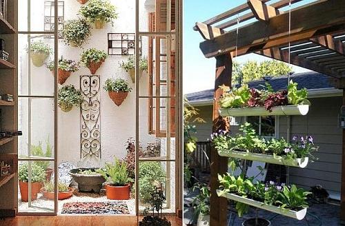 Como Montar Um Jardim Em Uma Casa Pequena – Dicas, Fotos (2)