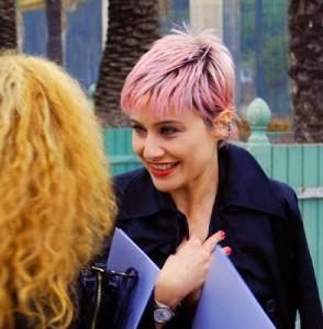 cabelo curto rosa