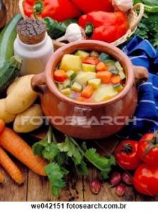 dieta da sopa com legumes