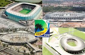 estadios e sedes