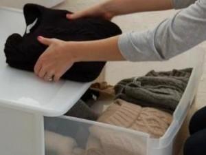 roupas no inverno