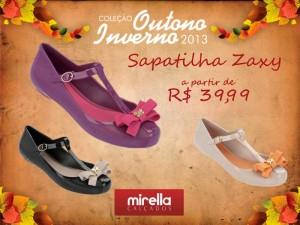 sapatilha-zaxy nova coleção 2013 com Bruna Marquezine