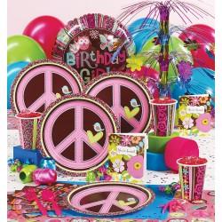 Aniversário Com Tema Hippie – Decoração, Fotos e Vídeo HippieChickPP
