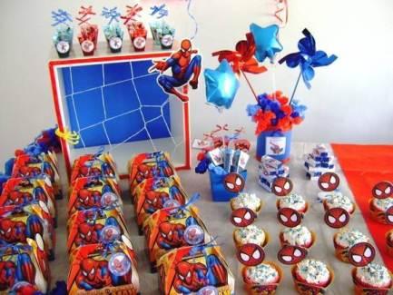 decoracao-de-festa-homem-aranha