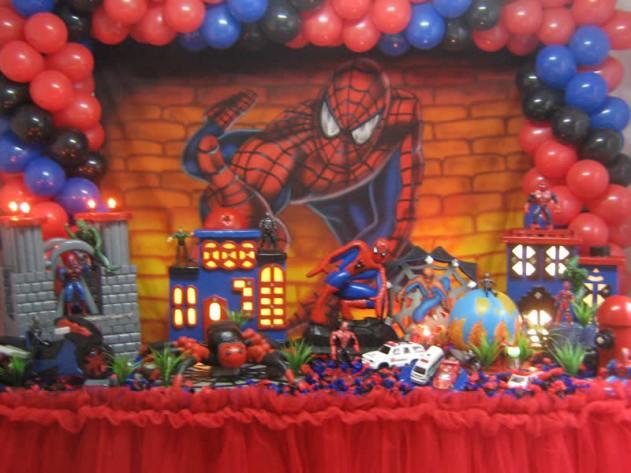 Decoração Festa de Aniversário infantil tema Homem Aranha – Fotos e Dicas  int
