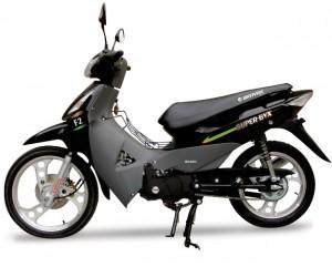 21/06/2012. Credito: Bravax/Divulgacao. Motocicleta Bravax 50cc F2.