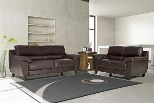 sofa em couro natural 300x201