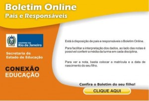 Boletim Escolar Seeduc RJ 2013   Consultar Notas  Boletim Escolar Seeduc Rj 2013 300x204