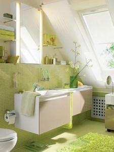 banheiro em sotao
