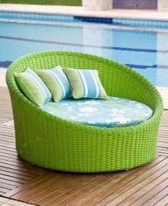 chaise verde