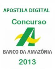 concurso amazonia 2013