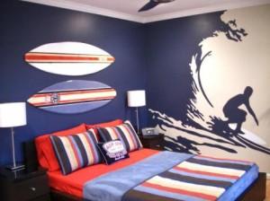 decoraçao para meninos surf