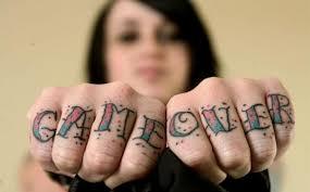 tatuagem game over