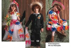 roupa traje caipira