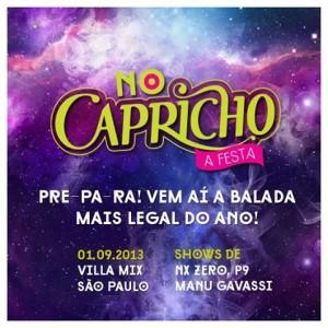 Balada no Capricho 2013