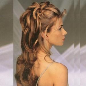 Penteados Para Casamento 2014 – Vídeo Como Fazer, Modelos Penteados Para Casamento Cabelos De cachos 300x300