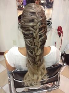 Penteados Para Casamento 2014 – Vídeo Como Fazer, Modelos Penteados Para Casamento Trança 225x300