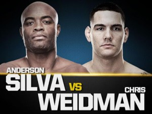 UFC Revanche entre Anderson Silva e Weidman em 2014 - 3 - 12jul13