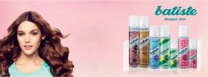 aplicando shampo seco