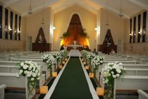 casamento simples decoraçao