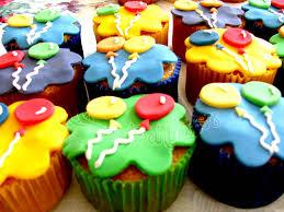cupcake colorido