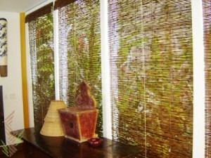 decoração-com-cortinas-de-bambu