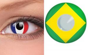 Lentes de Contato Copa do Mundo 2014 – Onde Comprar e Qual o Preço  lentes de contato 300x190